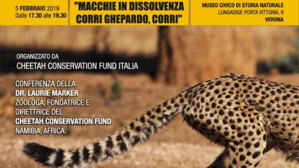 Conferenza Cheetah Conservation Fund
