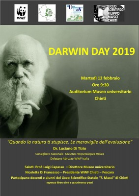 Il Darwin Day 2019 dedicato alle meraviglie dell'evoluzione