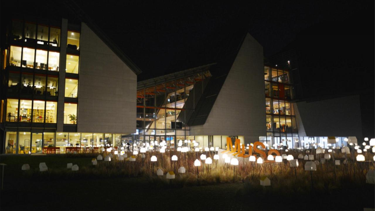 Inaugurata nel giardino del MUSE l'installazione