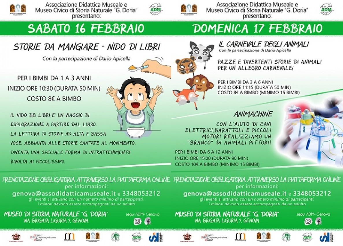 Attività per bambini e famiglie al Museo