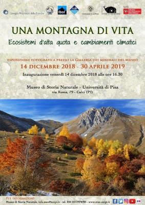 """Inaugurazione mostra fotografica """"Una Montagna di Vita. Ecosistemi d'alta quota e cambiamenti climatici"""""""