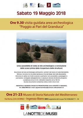 """Visita guidata area archeologica """"Poggio ai Pari del Granduca"""""""