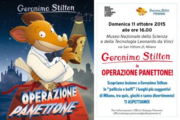 Geronimo Stilton - Operazione panettone