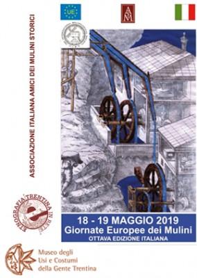 Giornate europee dei mulini: opifici idraulici aperti in Trentino