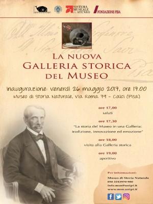 Inaugurazione nuova Galleria storica del Museo