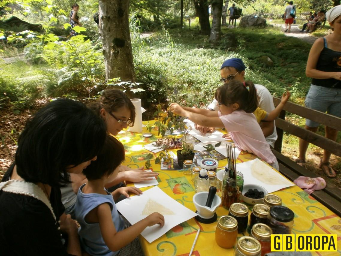 Fitto fine settimana al Giardino Botanico di Oropa!