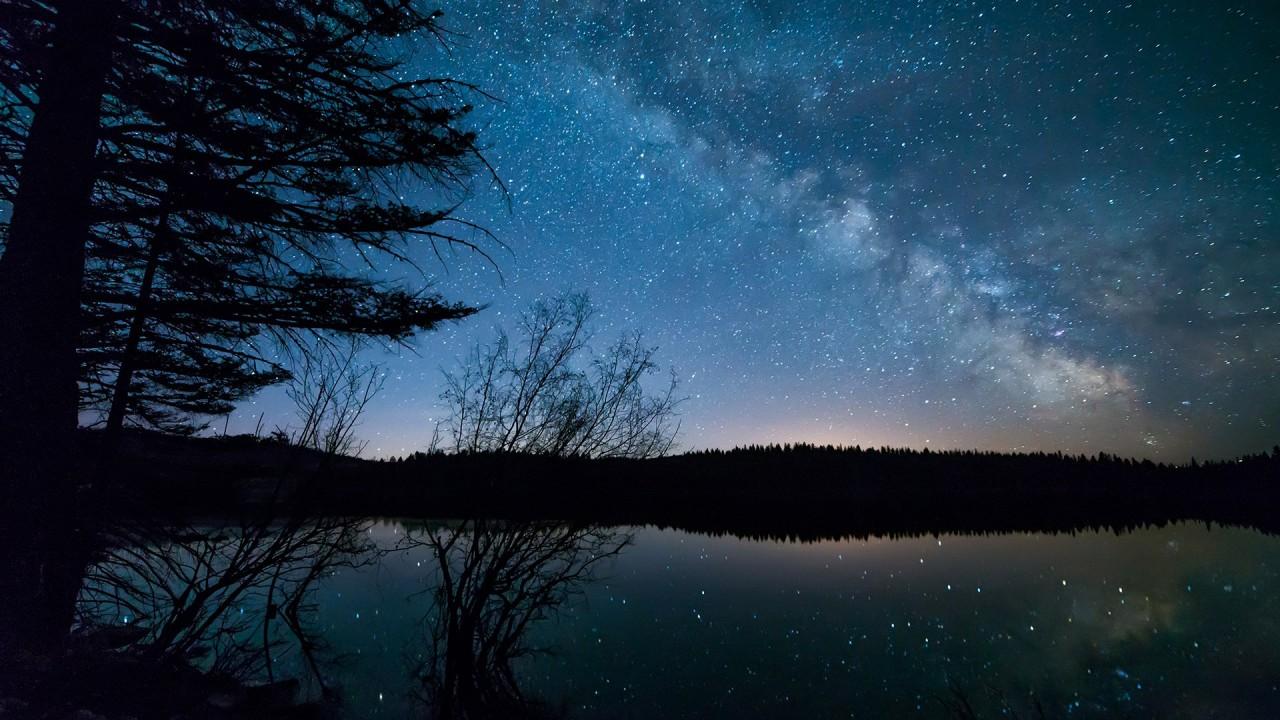 Una notte al lago