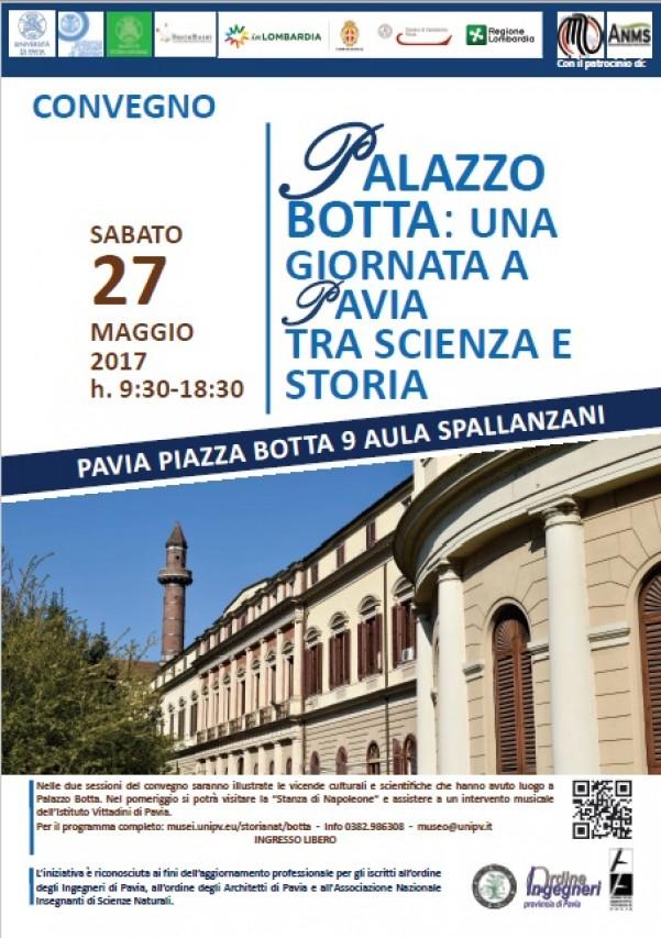 """""""Palazzo Botta: una giornata a Pavia tra scienza e storia"""""""