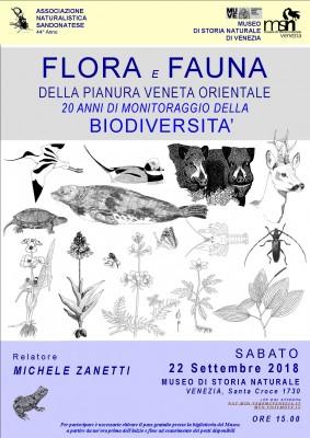 FLORA E FAUNA DELLA PIANURA VENETA ORIENTALE 20 anni di monitoraggio della biodiversità