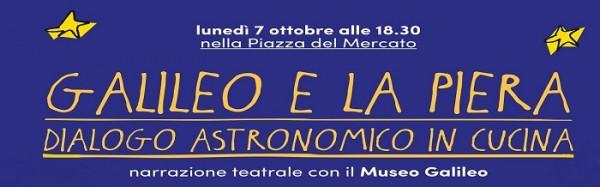 Galileo e la Piera al Mercato Centrale di Firenze