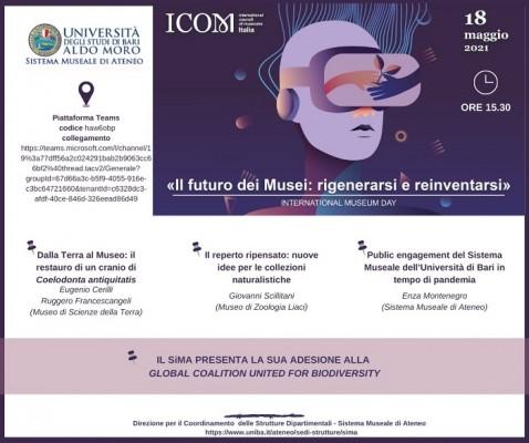 UniBa per la Giornata internazionale dei Musei – 2021