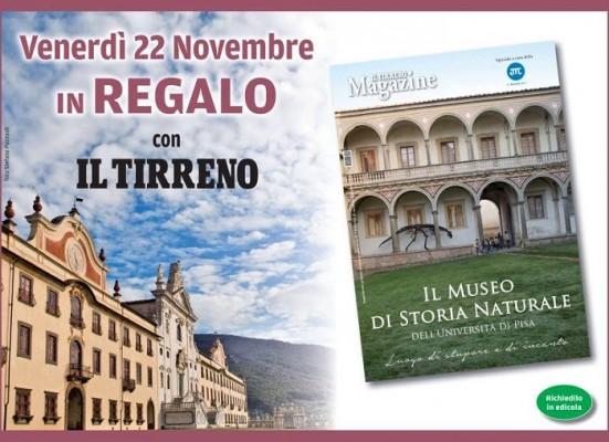 Venerdì 22 novembre in regalo con Il Tirreno il Magazine sul Museo