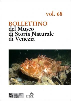 BOLLETTINO 68 del Museo di Storia Naturale
