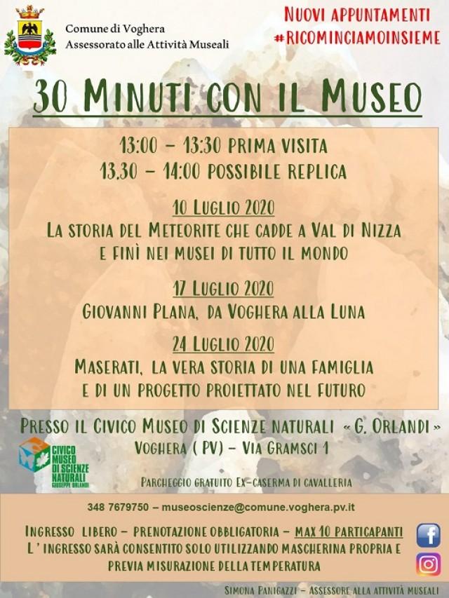 30 Minuti con il Museo