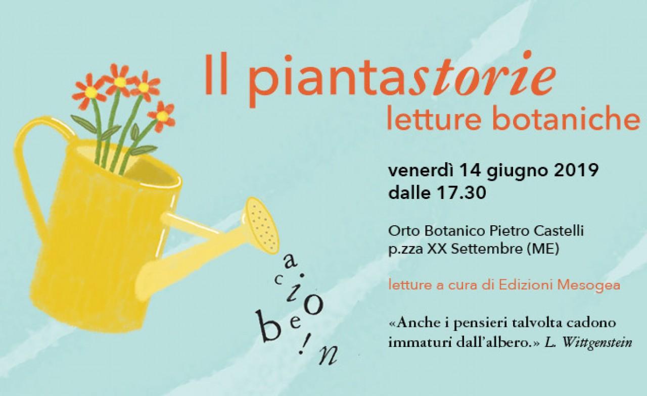Pomeriggio di letture botaniche all'Orto Botanico di Messina