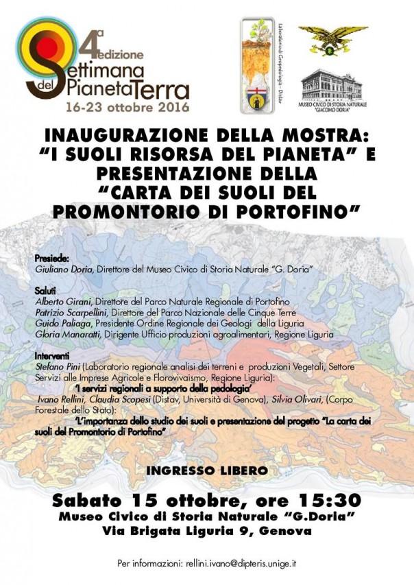 Settimana del Pianeta Terra al Museo Doria