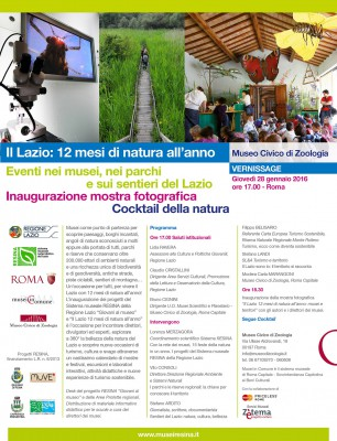 Il Lazio 12 mesi di natura all'anno