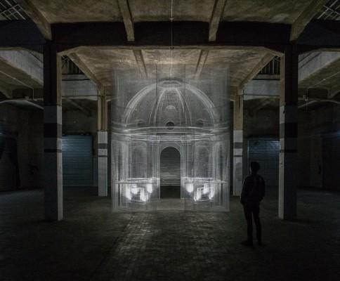 AL MUSEO UN'INSTALLAZIONE DI EDOARDO TRESOLDI