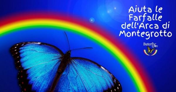 Aiuta a salvare le farfalle dell'Arca di Montegrotto