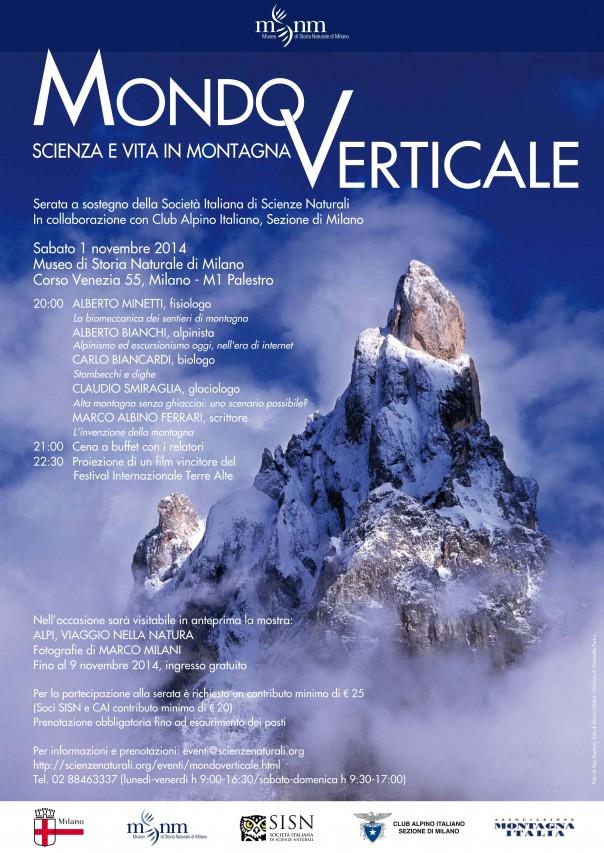 MONDO VERTICALE. Scienza e vita in montagna
