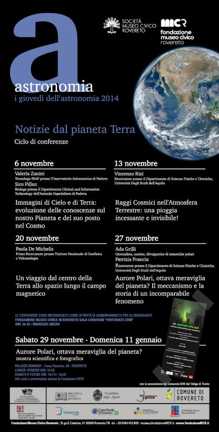 I giovedì dell'Astronomia 2014