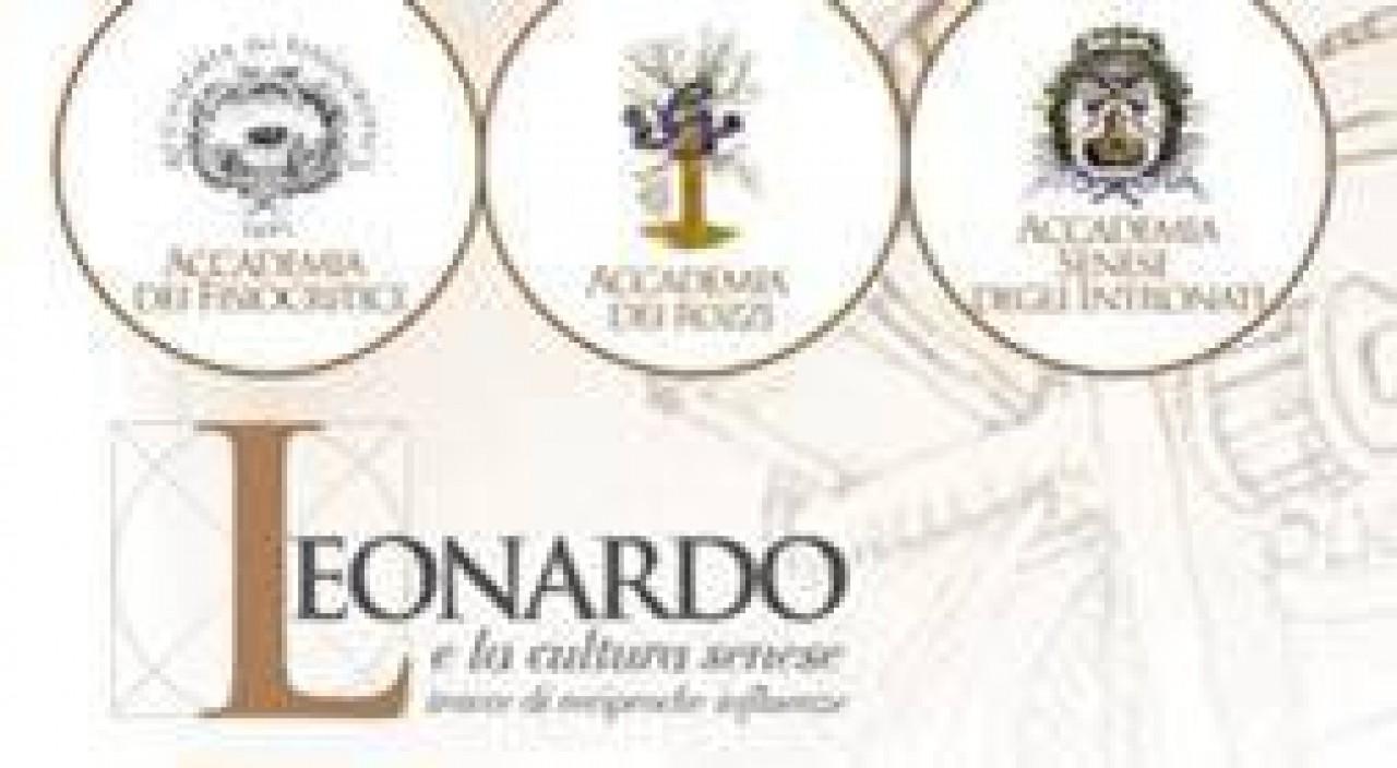 Leonardo e la cultura senese - convegno promosso dalle tre storiche Accademie senesi