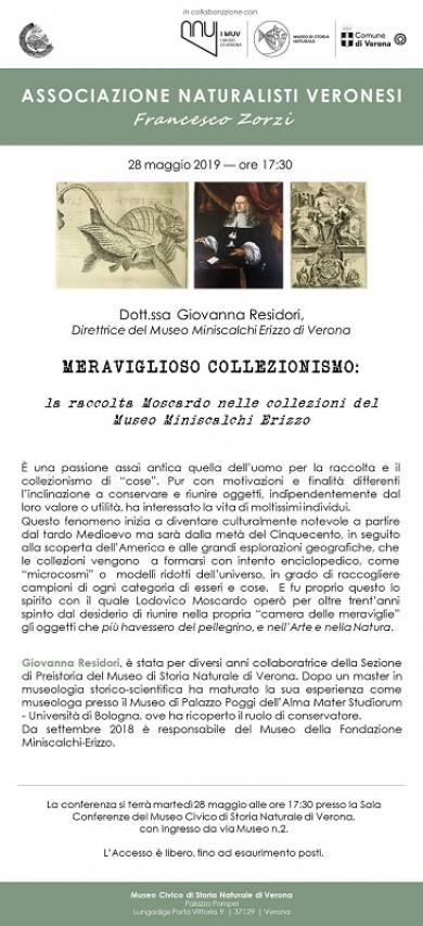 Meraviglioso collezionismo: la raccolta Moscardo nelle collezioni del Museo Miniscalchi Erizzo