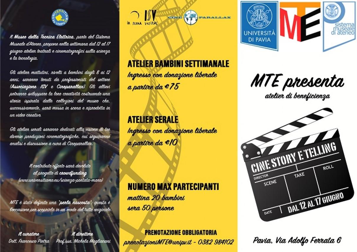 Atelier di Beneficienza - CINE STORY E TELLING