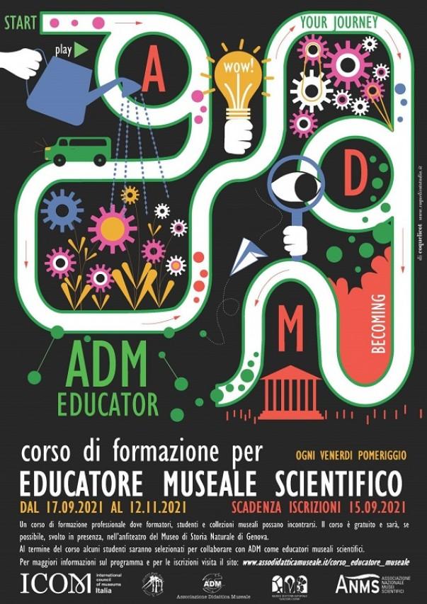 COLTIVARE CULTURA STEM: Corso di formazione per Educatore Museale Scientifico