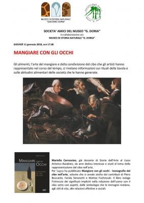 MANGIARE CON GLI OCCHI