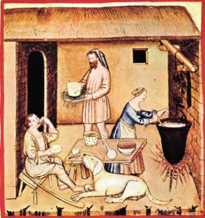 Una notte per illuminare il medioevo: mangiare e curarsi con le piante