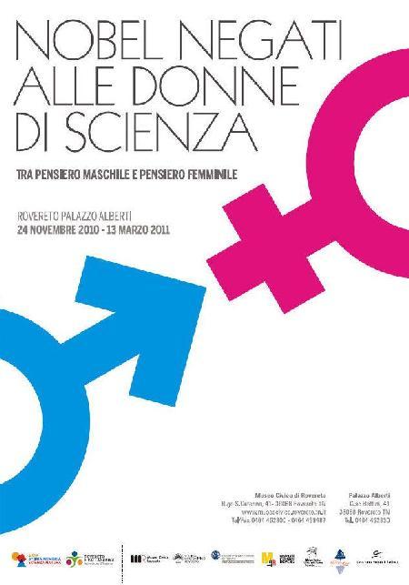 Nobel Negati alle Donne di Scienza - Tra pensiero maschile e pensiero femminile