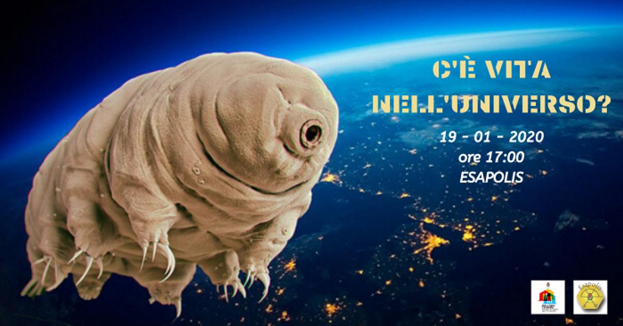 Conferenza e Lab Esapolis: C'è vita nell'Universo?