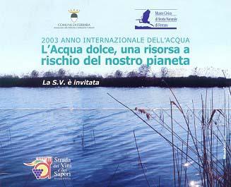 L'acqua dolce, una risorsa a rischio per il nostro pianeta