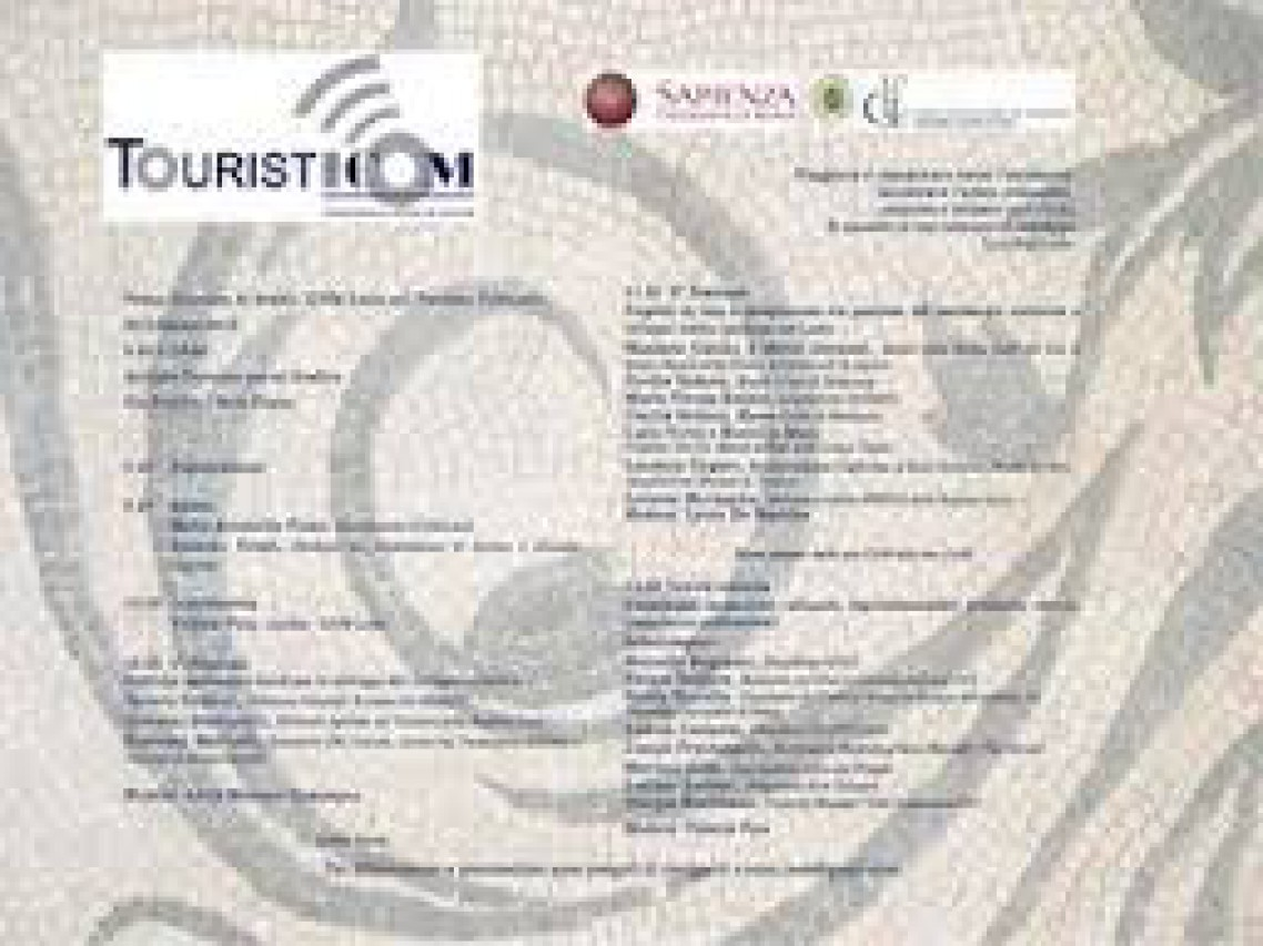 Giornata di Studio sul Turismo culturale nella Regione Lazio