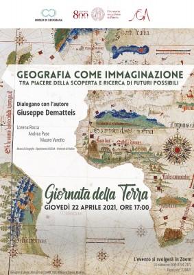 LA GIORNATA DELLA TERRA. Un incontro online al Museo di Geografia