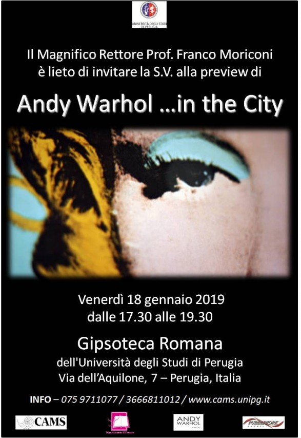 Andy Warhol ...in the City - preview assoluta