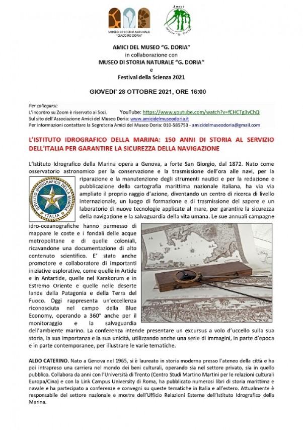 L'ISTITUTO IDROGRAFICO DELLA MARINA: 150 ANNI DI STORIA