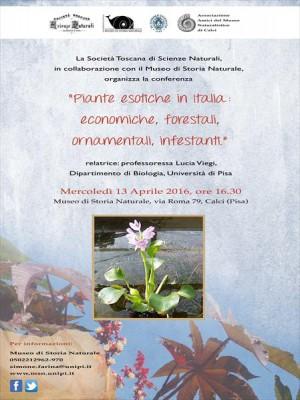Piante esotiche in Italia: economiche, forestali, ornamentali, infestanti
