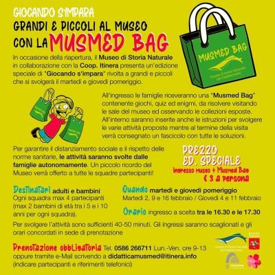 Giocando s'impara speciale - musmed bag