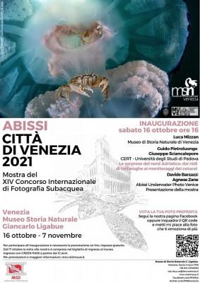 ABISSI CITTA' DI VENEZIA 2021