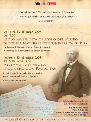 Due appuntamenti con Paolo Savi