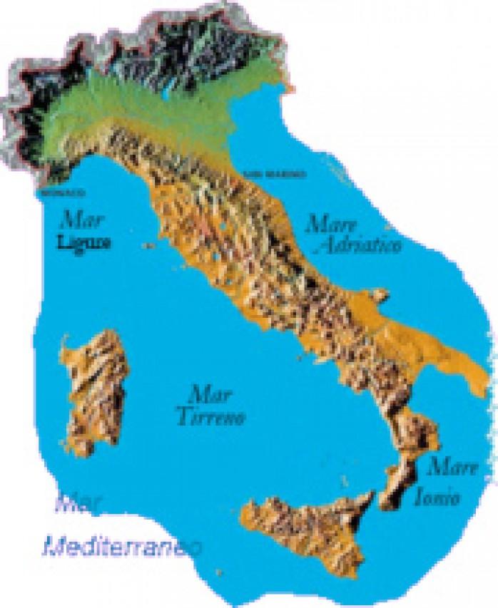 STORIA GEOLOGICA DELL'ITALIA