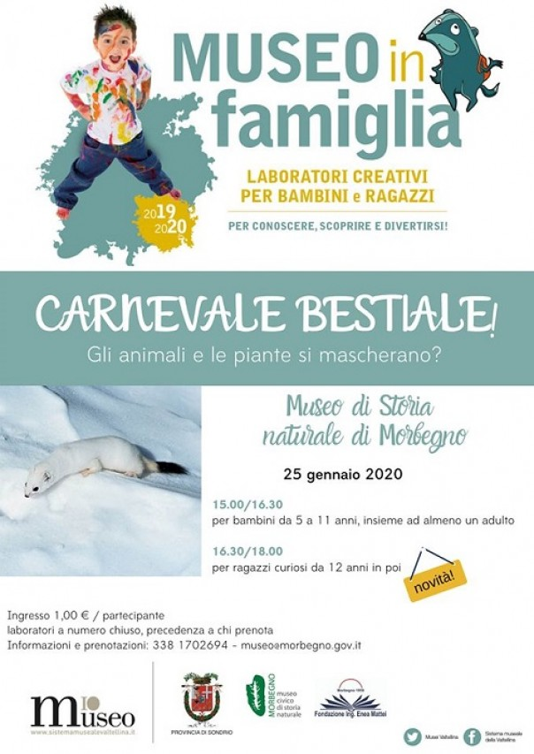 Museo in famiglia - Carnevale bestiale!