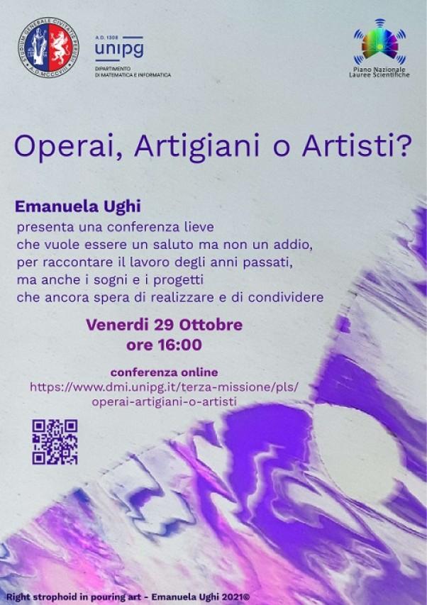 Conferenza di commiato della Prof.ssa Emanuela Ughi